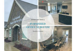 Furnished Office Sublease